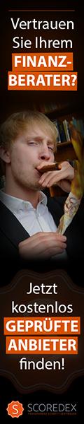 SCOREDEX geprüfte Finanzberater & Vermögensberater