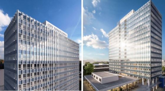 City Tower in Essen, Projekt der Magna Immobilien AG aus Hamburg