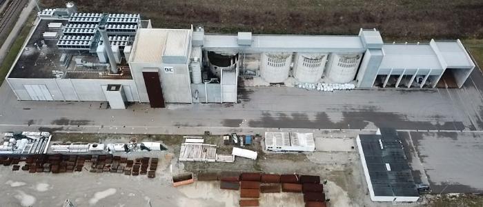 Blue Energy Europe - Holzheizkraftwerk in Senden