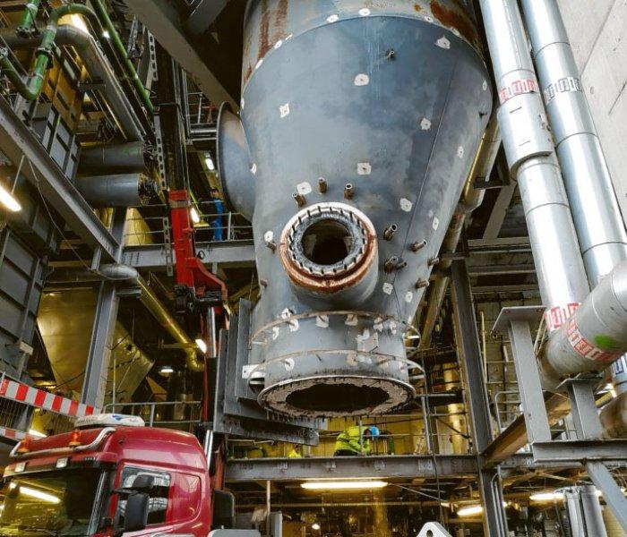Blue Energy - Wasserstoff-Produktion in grüner Wasserstoff-Fabrik?