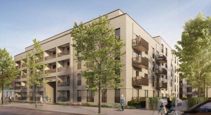 Magna in Ahrensburg - Grundstück an Meravis veräußert Die Pläne für die Wohnbebauung erstellte das Hamburger Architekturbüro Schenk+Waiblinger Architekten (Copyright: Moka Studio)