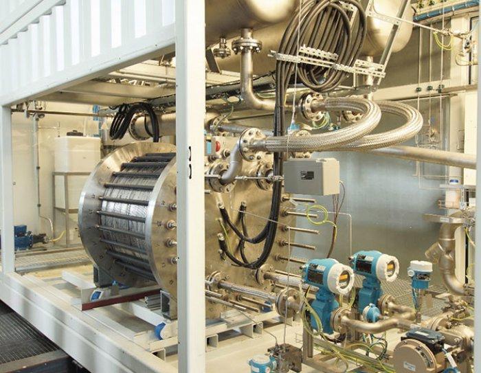 Blue Energy Group Grüner Wasserstoff aus Ökostrom und Biomasse