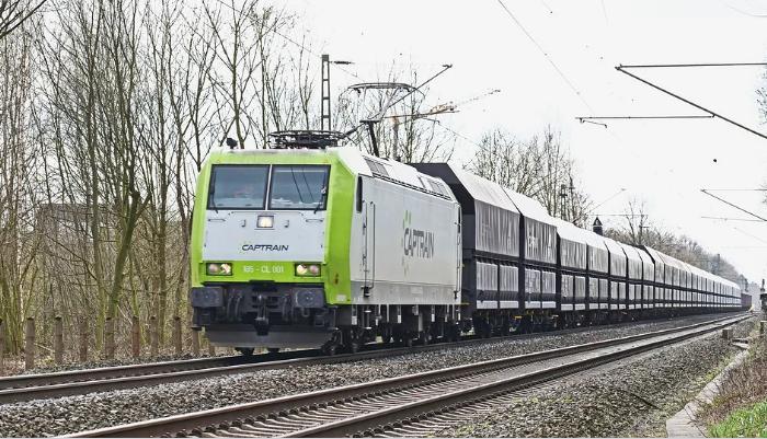 Aves One Güterwagen-Flotte mit Flüsterbremsen