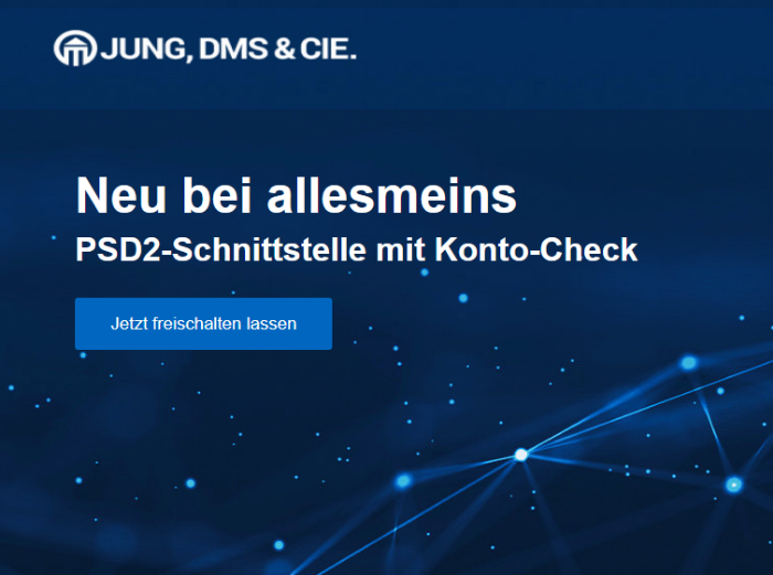JDC Konto-Check ab sofort in der Berater-App
