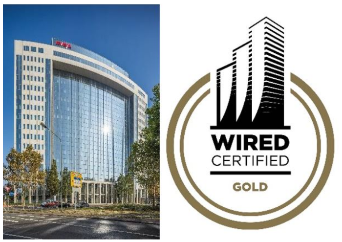 publity AG WiredScore Gold Zertifizierung Centurion Tower