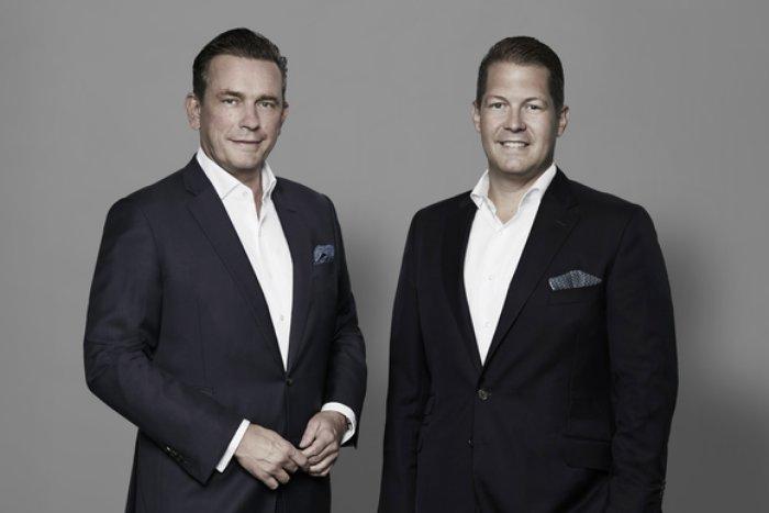 Projektentwicklung 2020 - MAGNA Real Estate steigert Ergebnis v.l.n.r.: MAGNA Vorstände Jörn Reinecke und David Liebig Bildrechte: MAGNA Real Estate AG, Rolf Otzipka