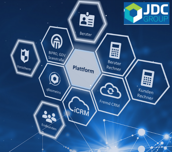 Plattformtechnologie JDC Group AG - Kooperation mit Multibanking-App Finanzguru