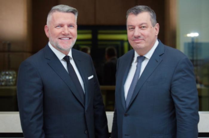 Frank Schneider und Thomas Olek (links) im großen Interview
