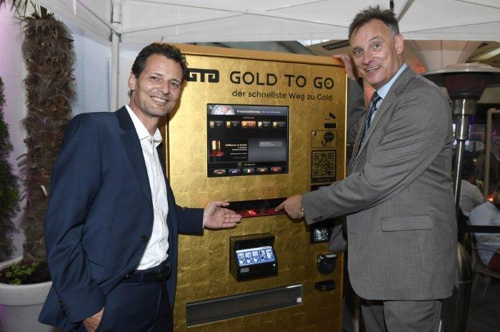 GOLD TO GO - erster Goldautomaten in München