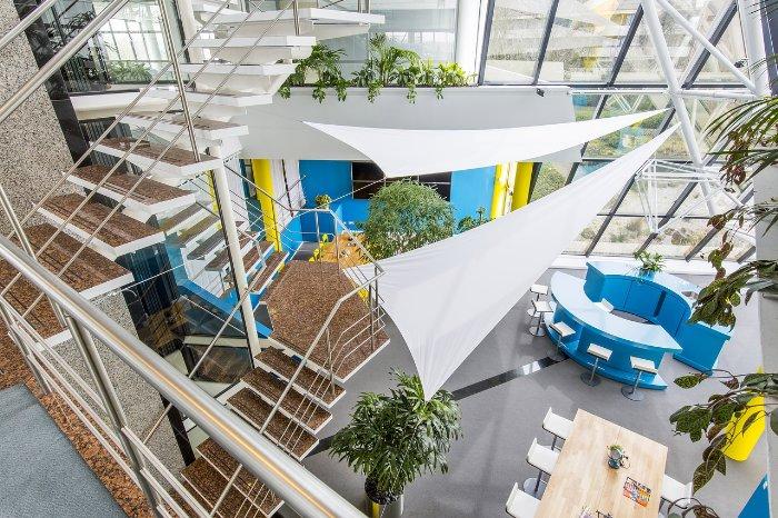 Büro der Zukunft - neue Bürokonzepte - publity AG