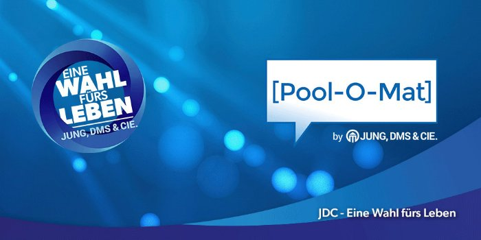 Wahlkampagne Pool-O-Mat - die Makleroffensive