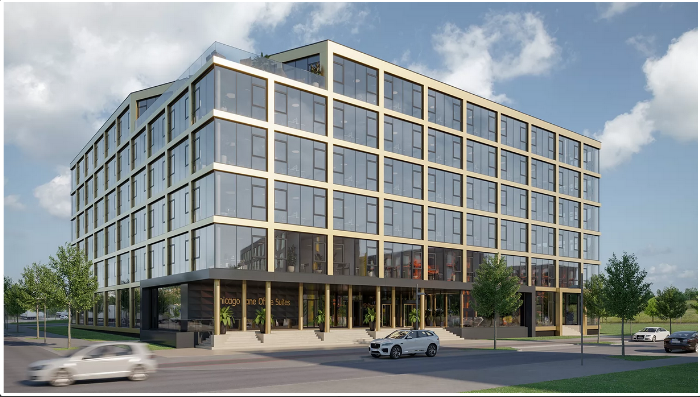Expo Park Hannover - Neubau-Büroprojekt Chicago Lane Office Suites - finanziert von Engel & Völkers Capital AG