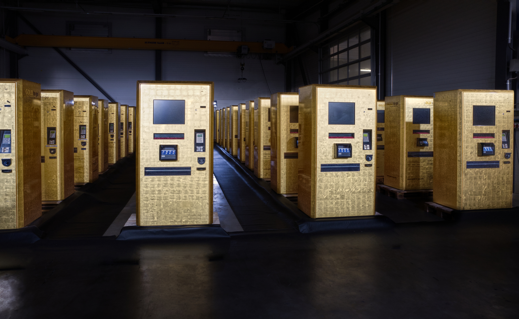 Österreich - erster Gold to GO Automat